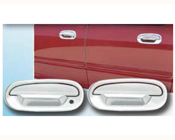 Quality Automotive Accessories ABS   Chrome Door Handle Cover Kit Ford F-150 1997