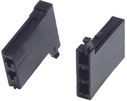 TE Connectivity , Dynamic 3000 Female Connector Housing, 2 Way, 2 Row (5)