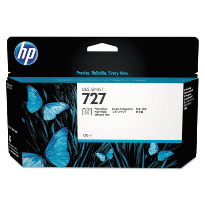 HP 727 B3P23A Original Photo Black Ink Cartridge High Yield 130ml
