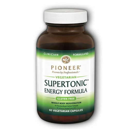Supertonic 60 Vcaps by Pioneer Nutritionals