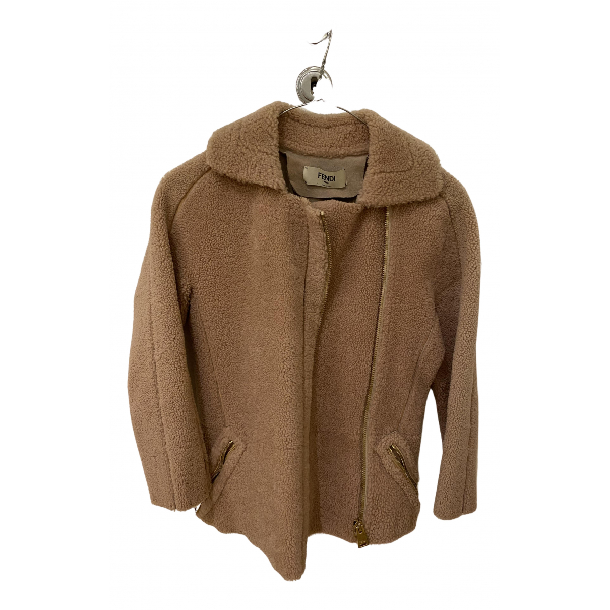 Fendi N Brown Leather jacket for Women 36 IT