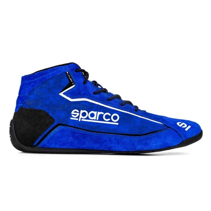 Sparco 00127446BRFX Slalom+ Suede Competition Shoes Blue EU 46