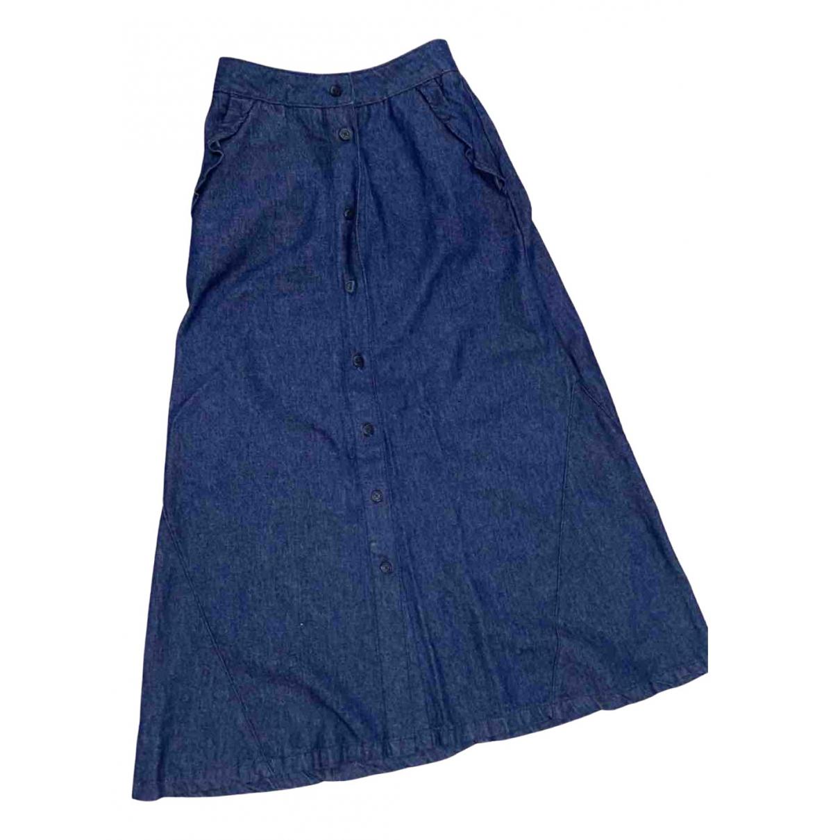 Maje \N Rocke in  Blau Denim - Jeans