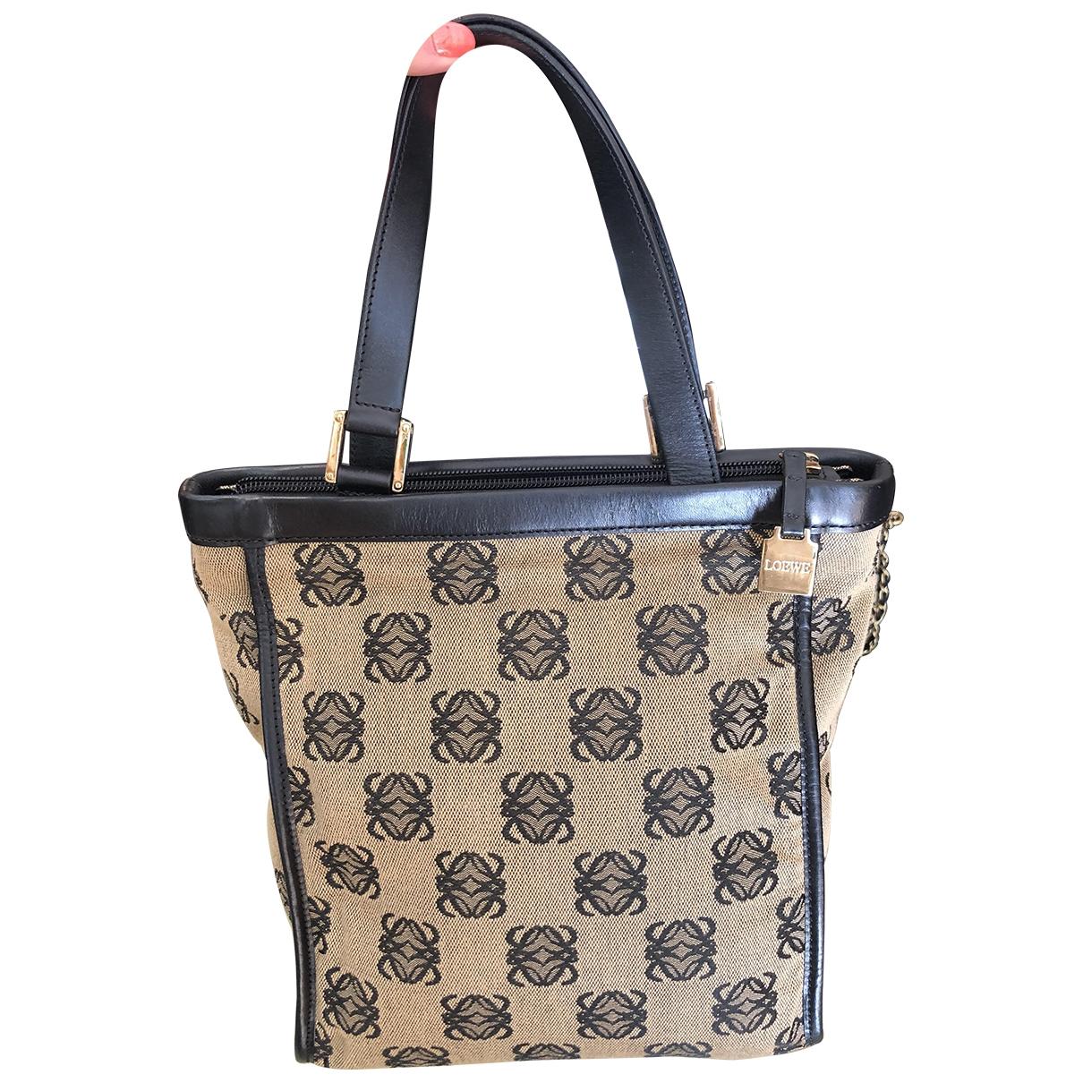 Loewe \N Navy Cloth handbag for Women \N