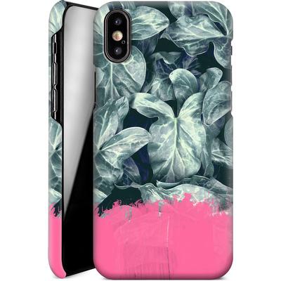 Apple iPhone X Smartphone Huelle - Sweet Pink on Jungle von Emanuela Carratoni