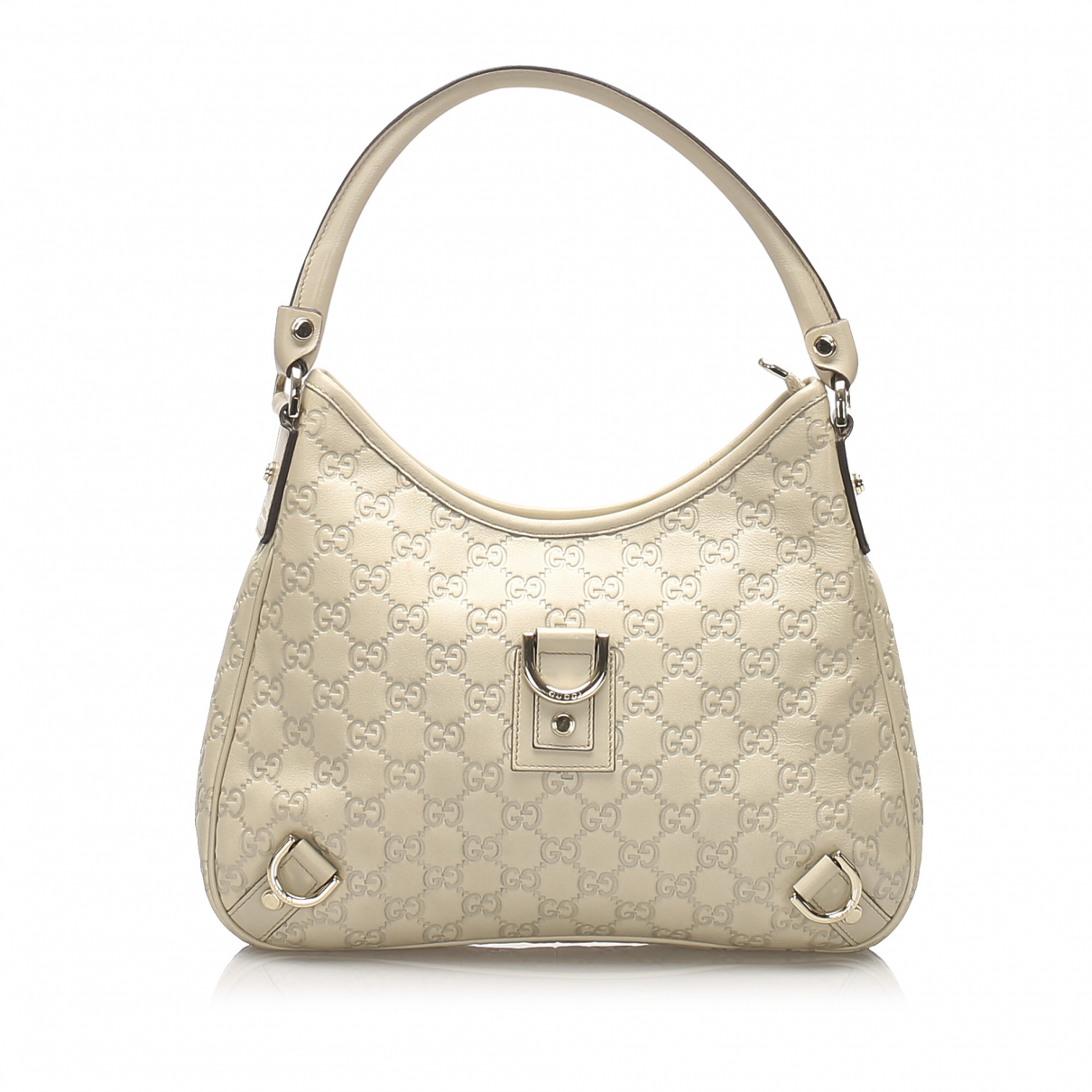 Gucci N White Leather handbag for Women N