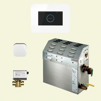 400C1AI3WH 9kW Steam Bath Generator with iSteam3 AutoFlush Package in
