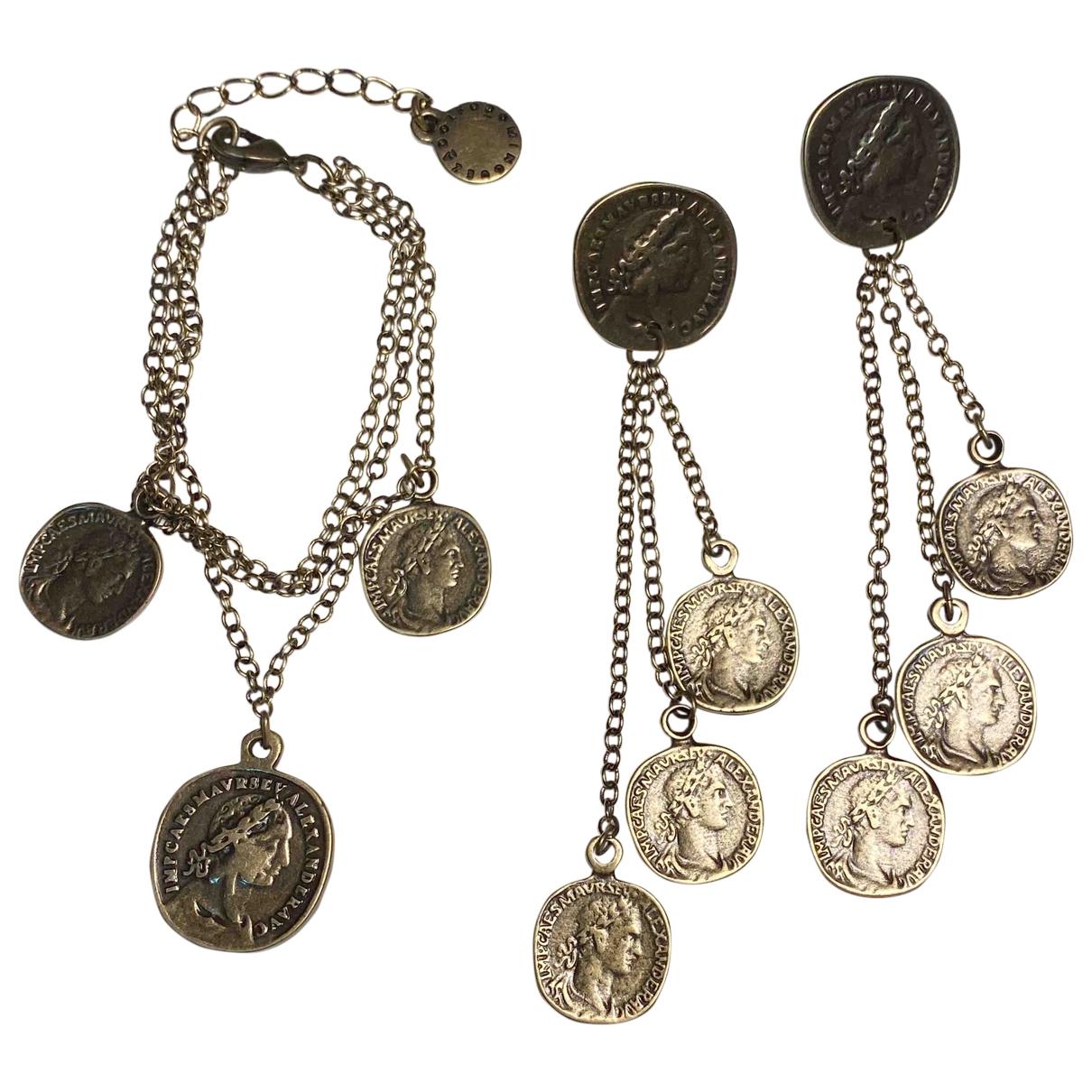Adolfo Dominguez \N Brown Metal Jewellery set for Women \N