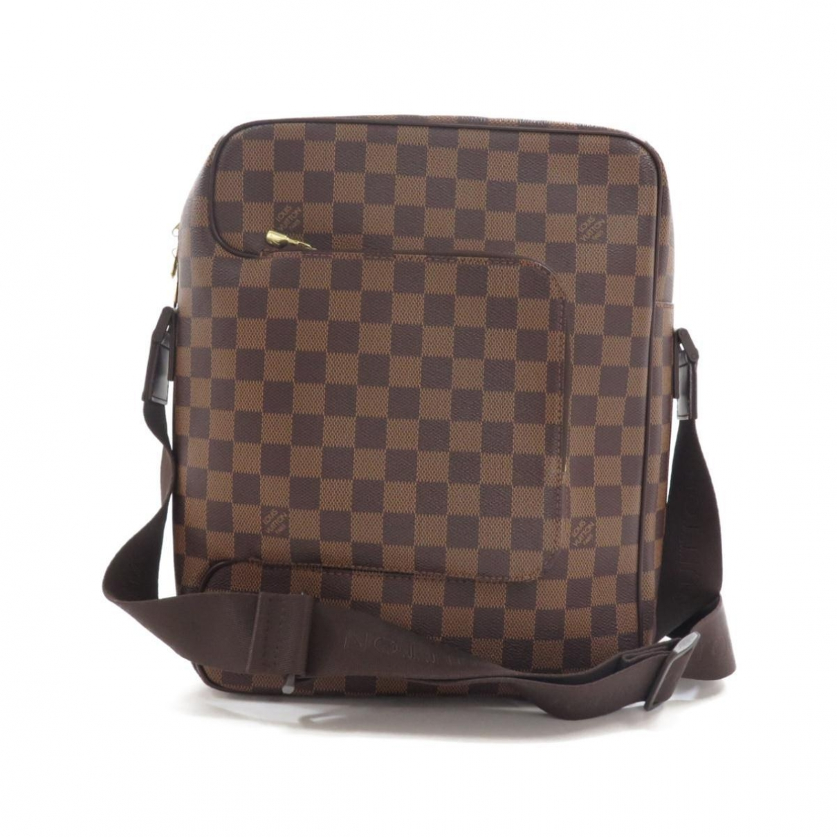 Louis Vuitton Olav  Brown Cloth handbag for Women \N