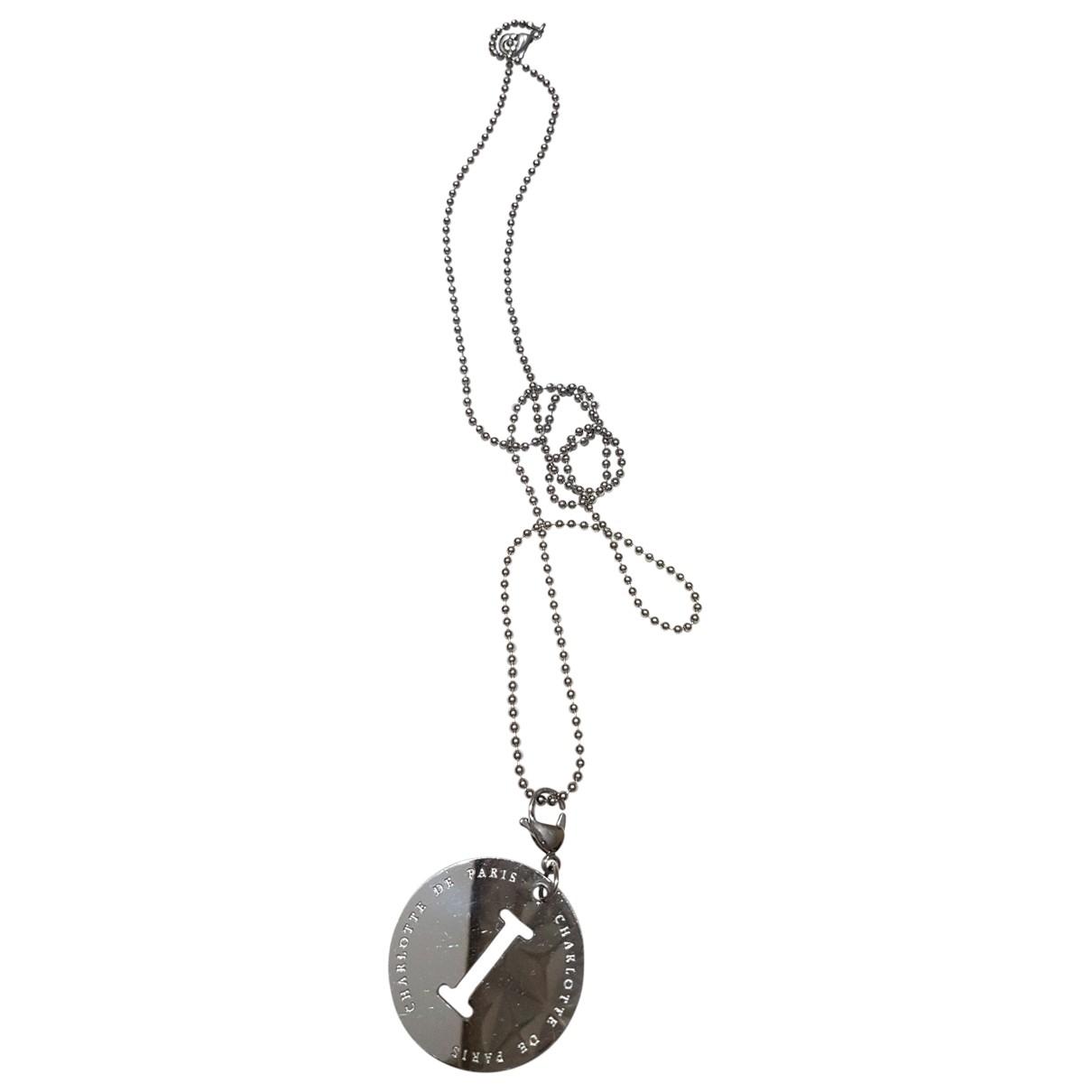 Collar largo Medailles Non Signe / Unsigned