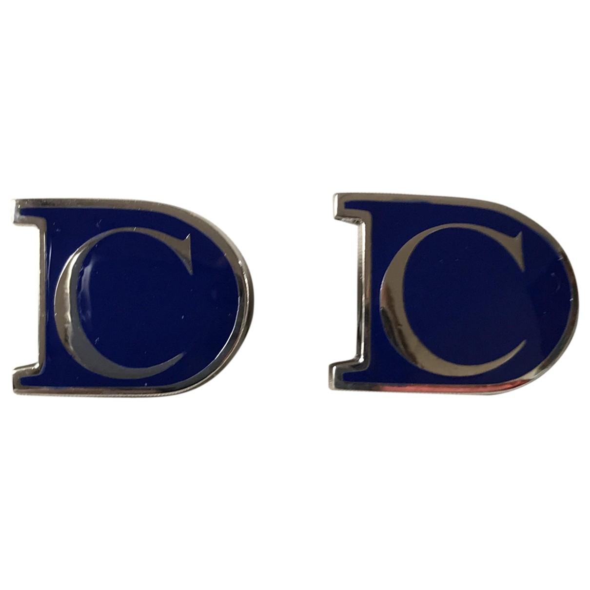 Dior - Boutons de manchette   pour homme en metal - bleu