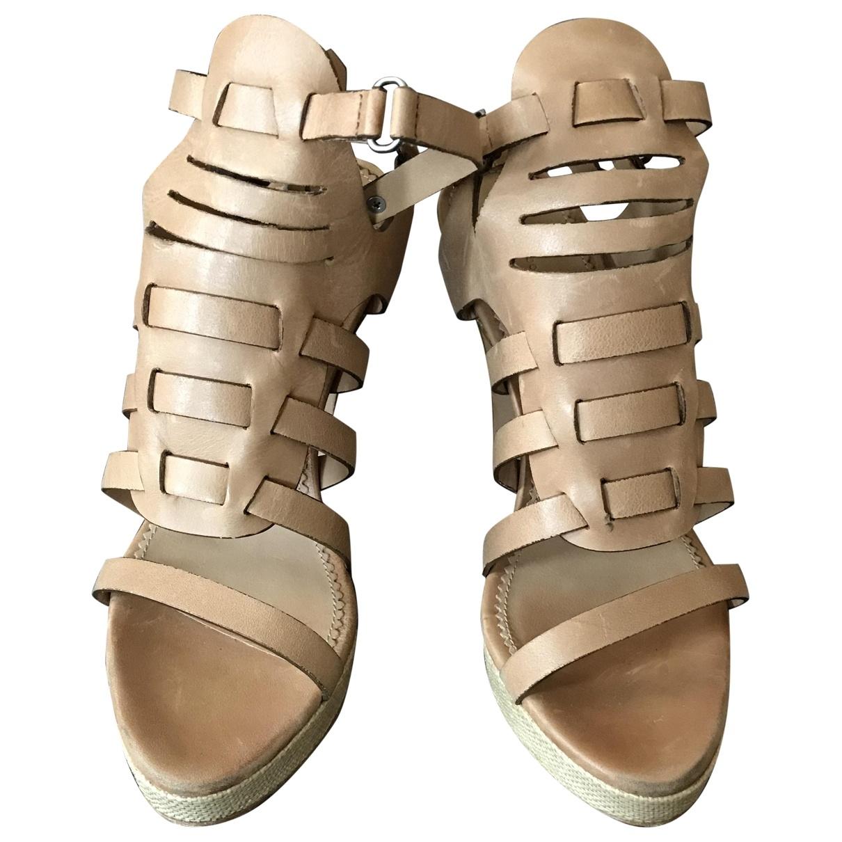 Sandalias de Cuero Rag & Bone