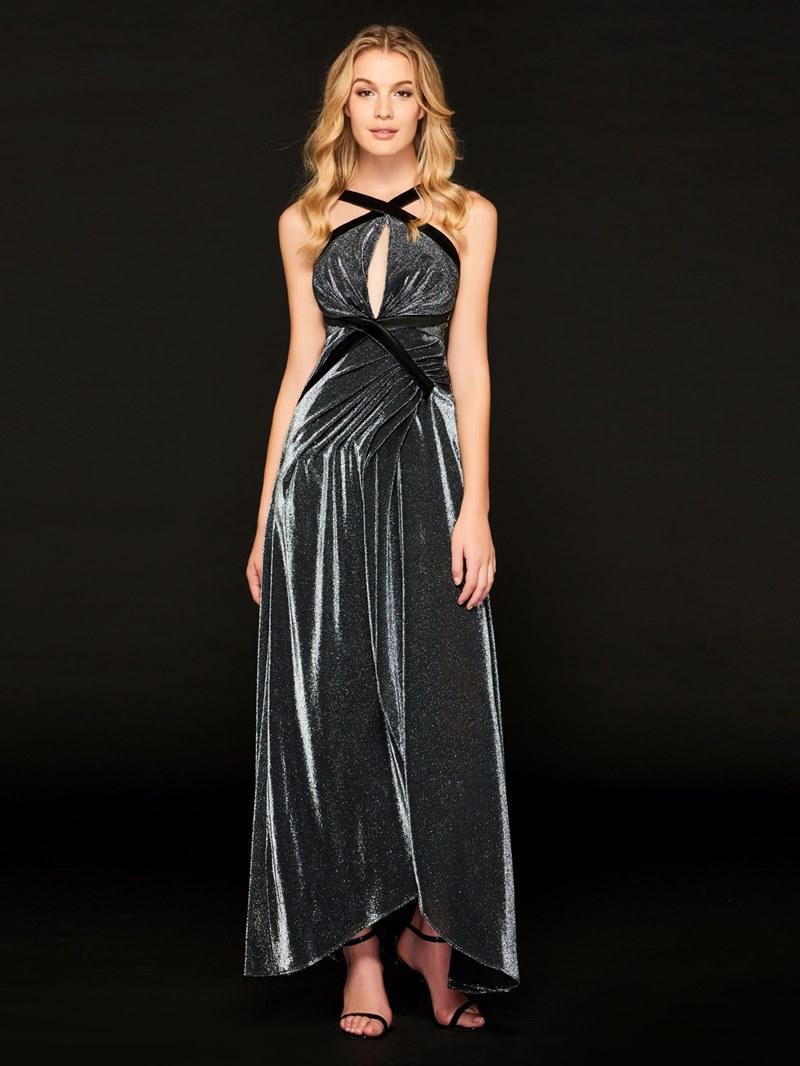 Ericdress A Line Halter Straps Backless Prom Dress