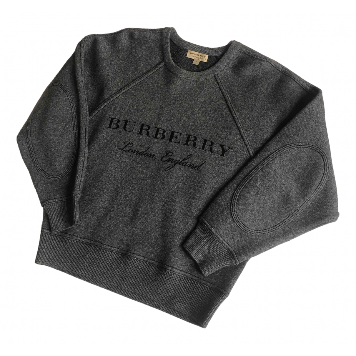 Burberry \N Pullover in  Grau Wolle