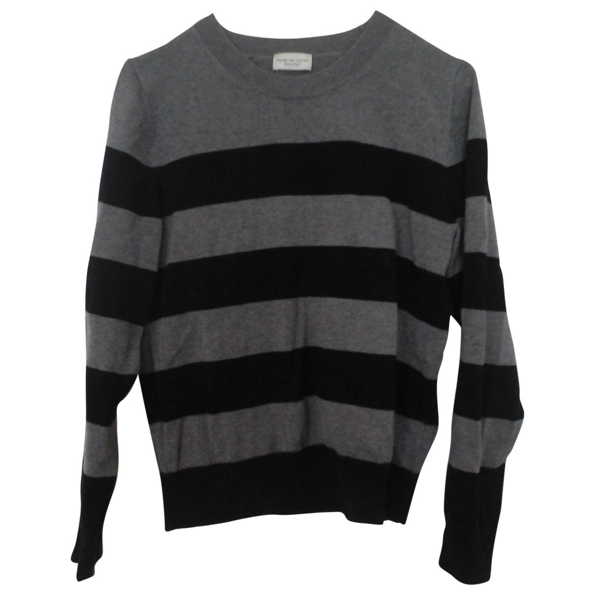 Dries Van Noten \N Grey Cotton Knitwear for Women 34 FR