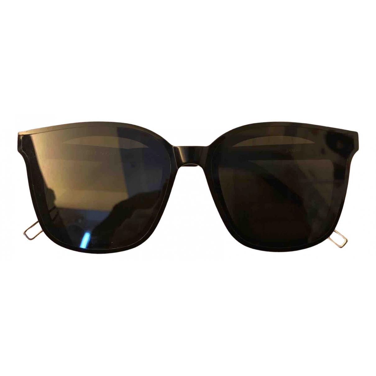 Gentle Monster \N Sonnenbrillen in  Schwarz Kunststoff