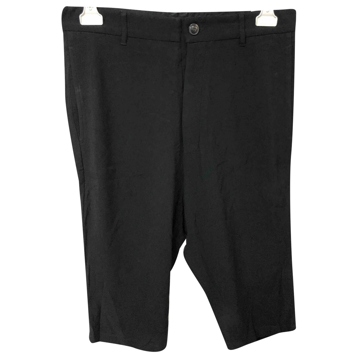 Rick Owens \N Shorts in  Schwarz Synthetik