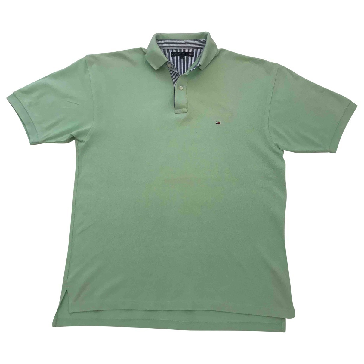 Tommy Hilfiger \N Green Cotton Polo shirts for Men L International