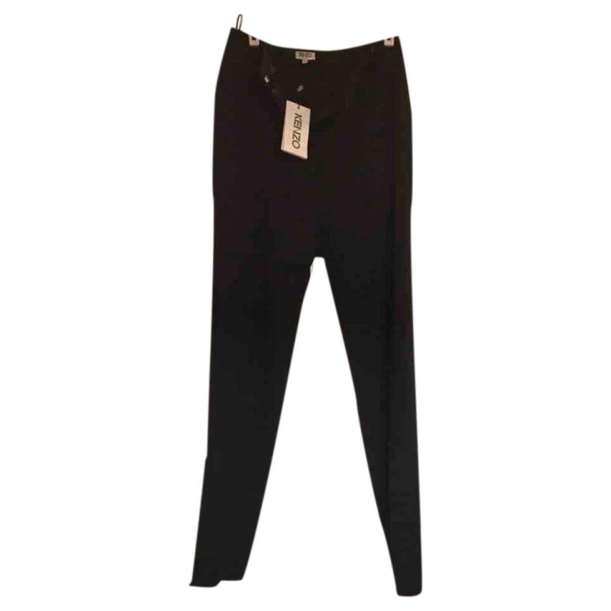 Kenzo \N Black Trousers for Women 36 FR