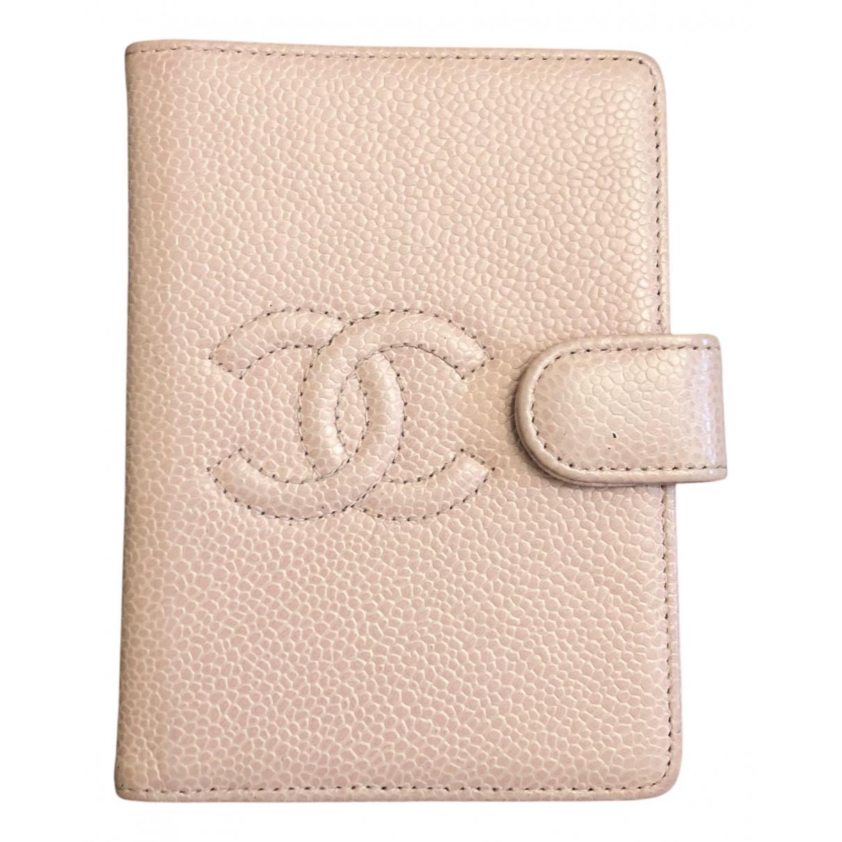 Chanel - Objets & Deco   pour lifestyle en cuir - rose