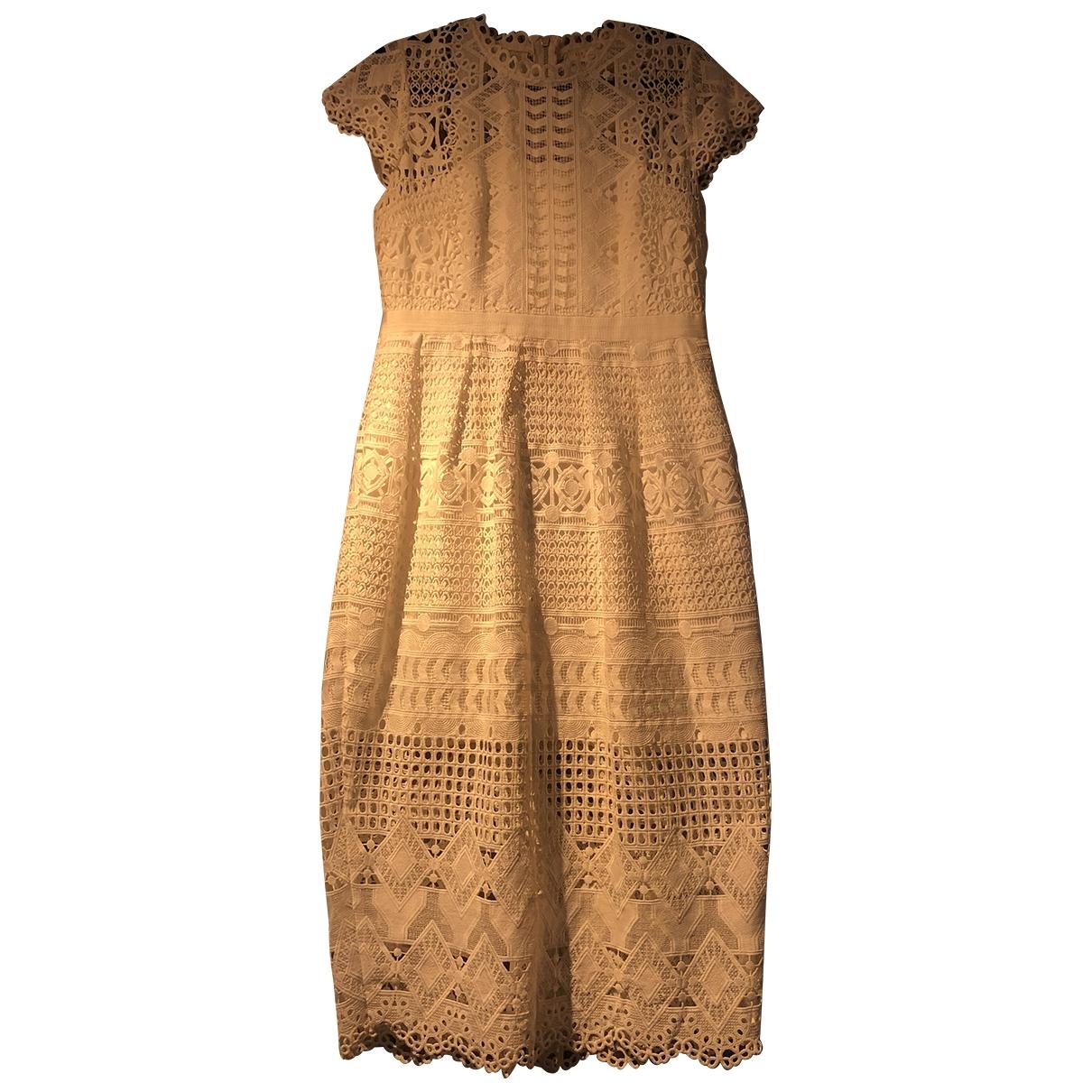 Ted Baker \N Kleid in  Weiss Polyester