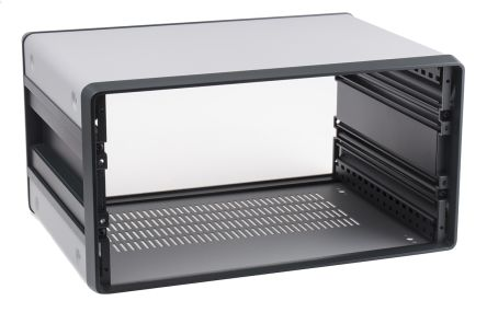 nVent – Schroff CompacPRO 4U Server Cabinet 191.6 x 364 x 271mm, Grey
