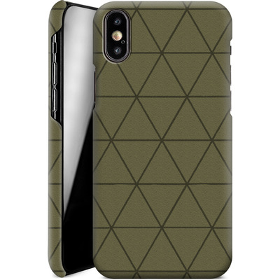 Apple iPhone X Smartphone Huelle - Moss von caseable Designs