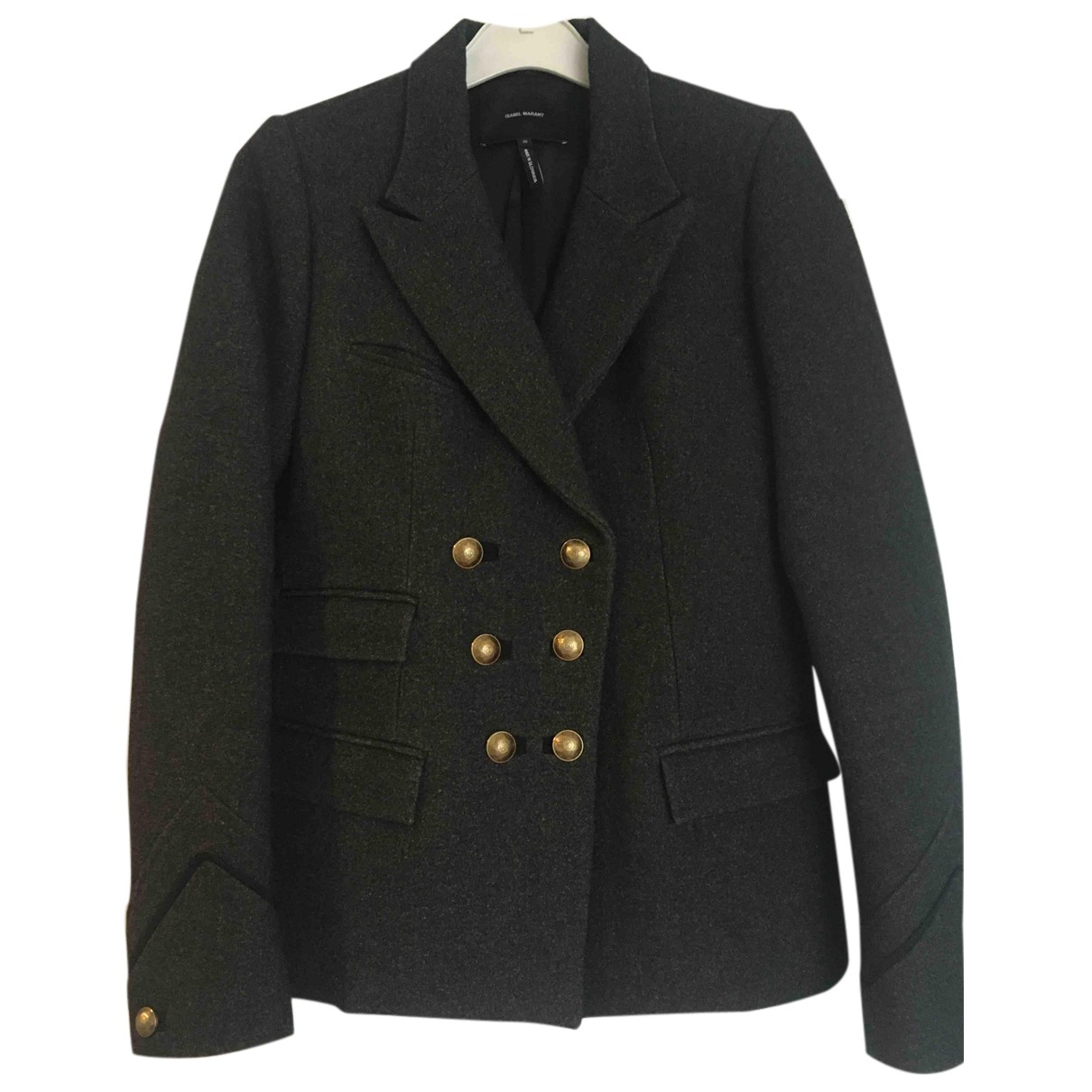 Isabel Marant N Anthracite Wool jacket for Women 36 FR