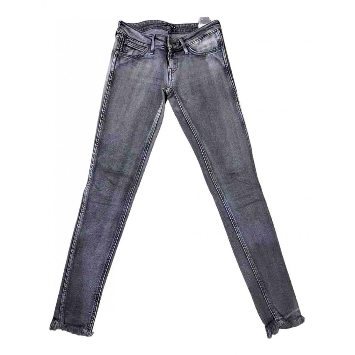 Levi's N Grey Denim - Jeans Jeans for Women 25 US