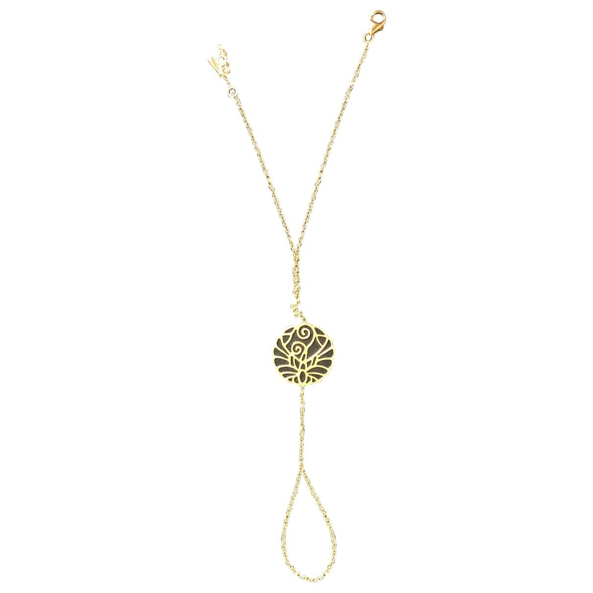 Nessa - Bracelet   pour femme en or jaune - dore