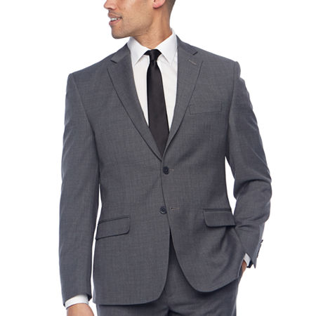 Collection by Michael Strahan Mens Classic Fit Suit Jacket, 42 Long, Gray