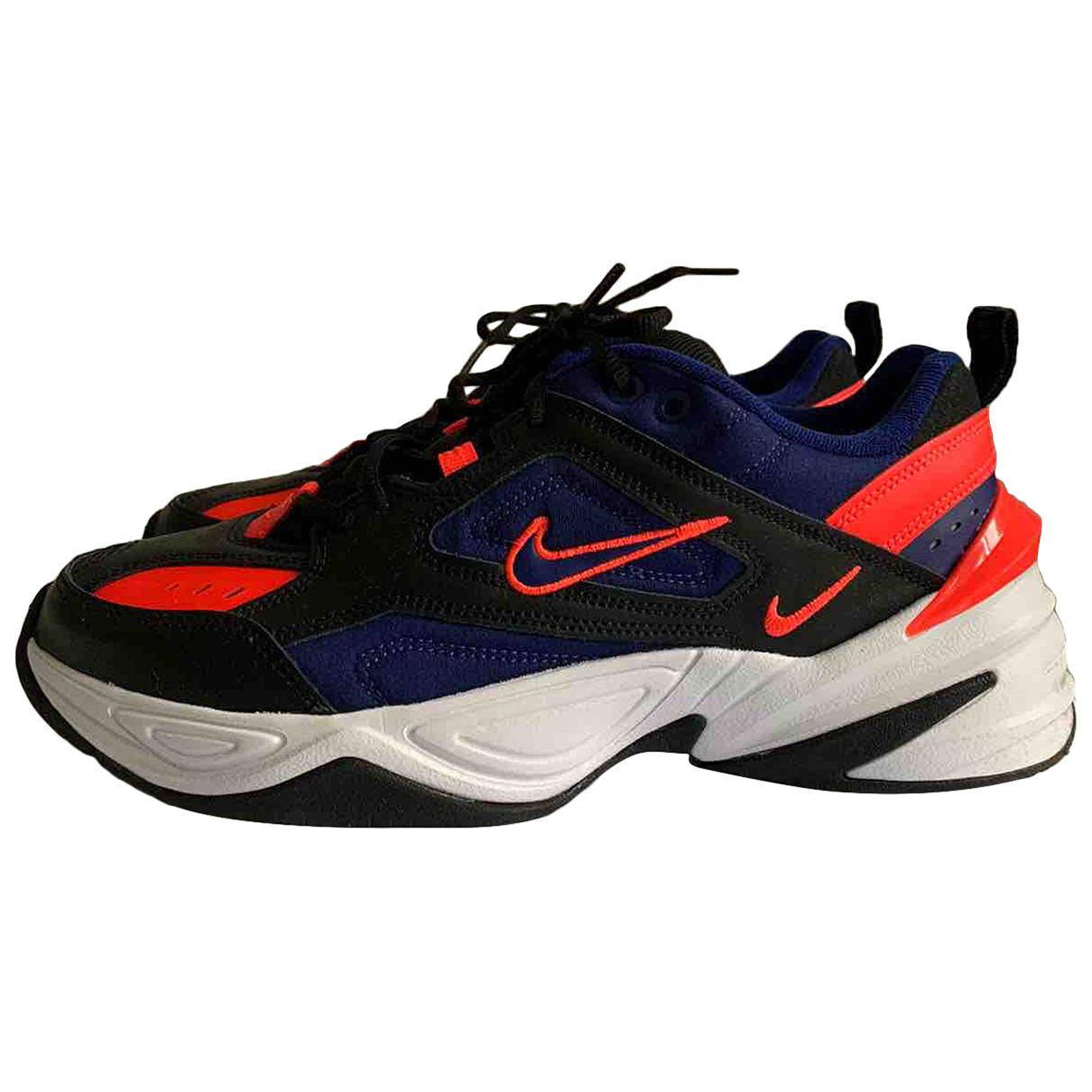 Nike - Baskets M2K Tekno pour homme en cuir - bleu