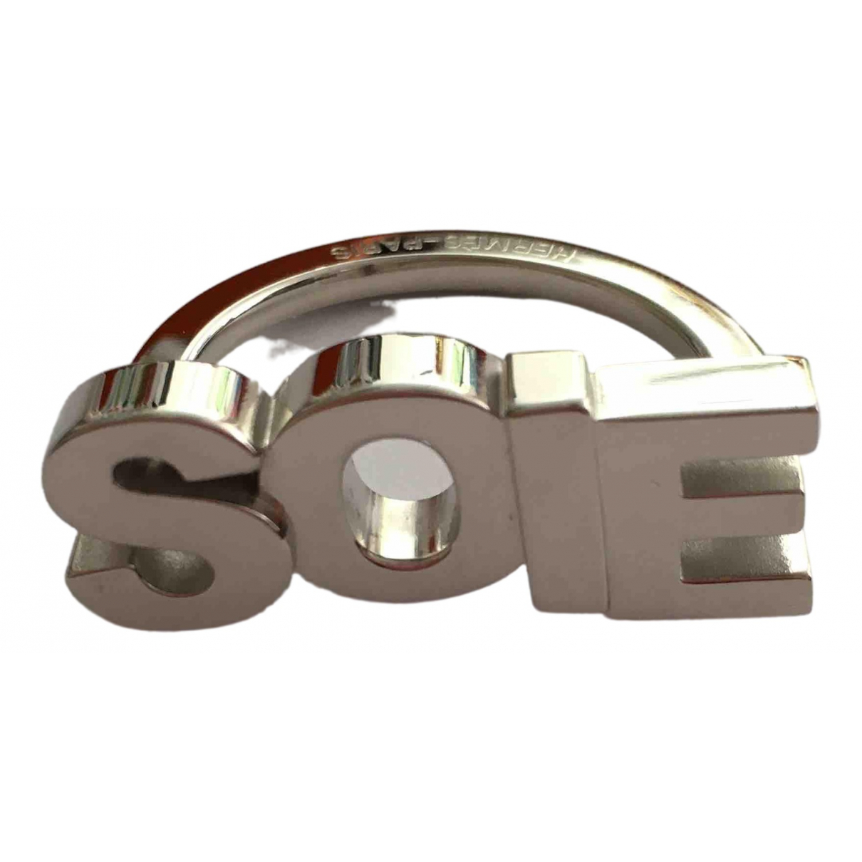 Hermès \N Silver Metal Pins & brooches for Women \N