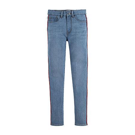 Levi's Big Girls 720 Skinny Fit Jean, 8 , Blue
