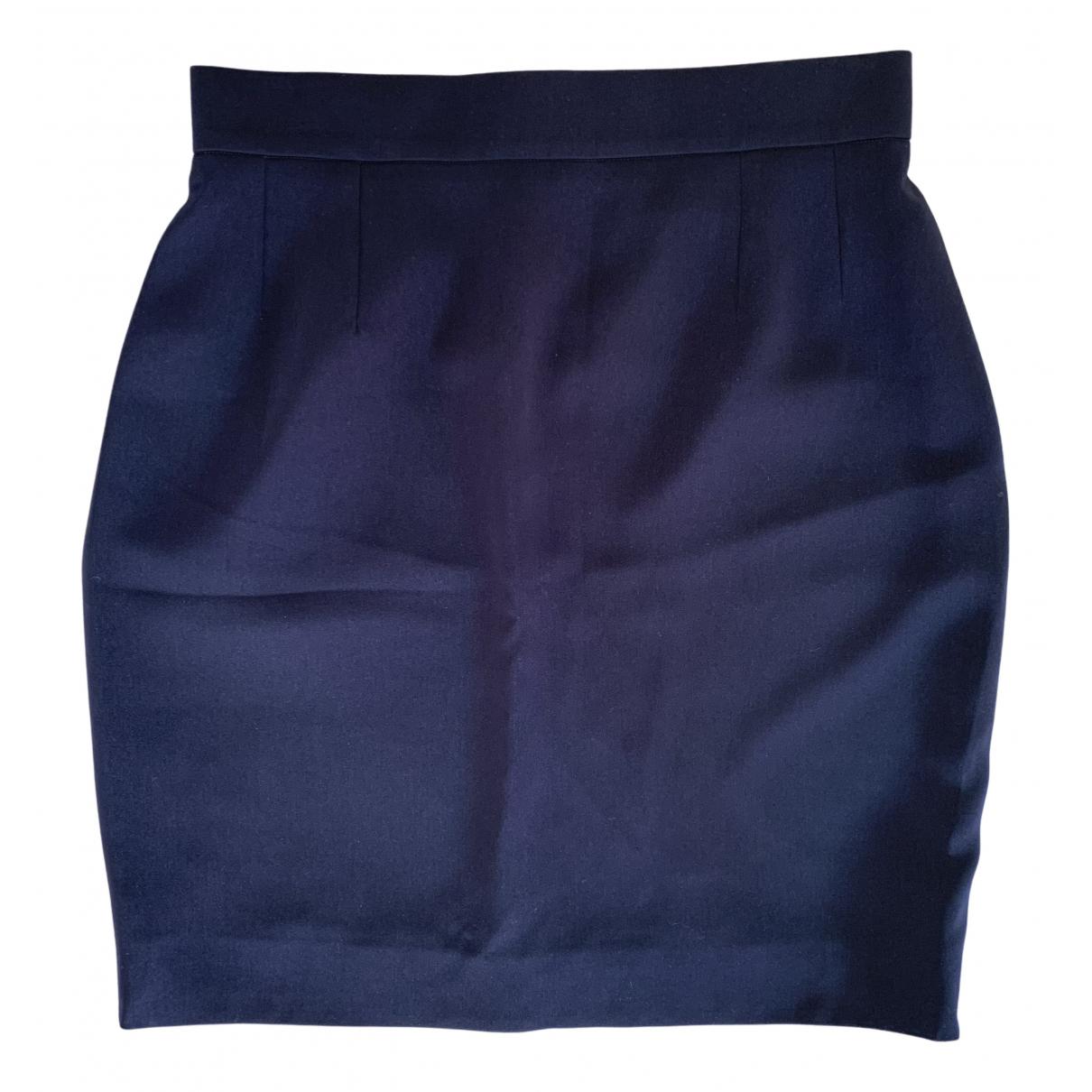 Chanel \N Rocke in  Blau Polyester