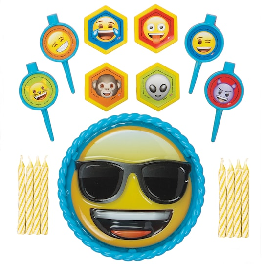 Emoji Cake Decorating Kit, 17Pc | Michaels®