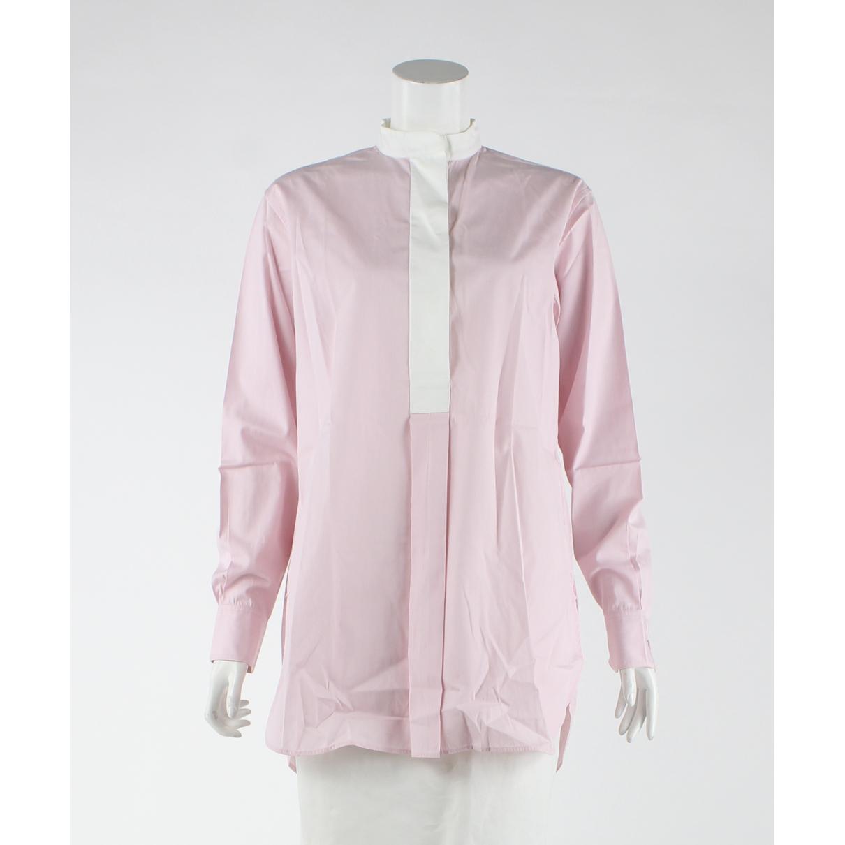 Celine \N Kleid in  Rosa Baumwolle