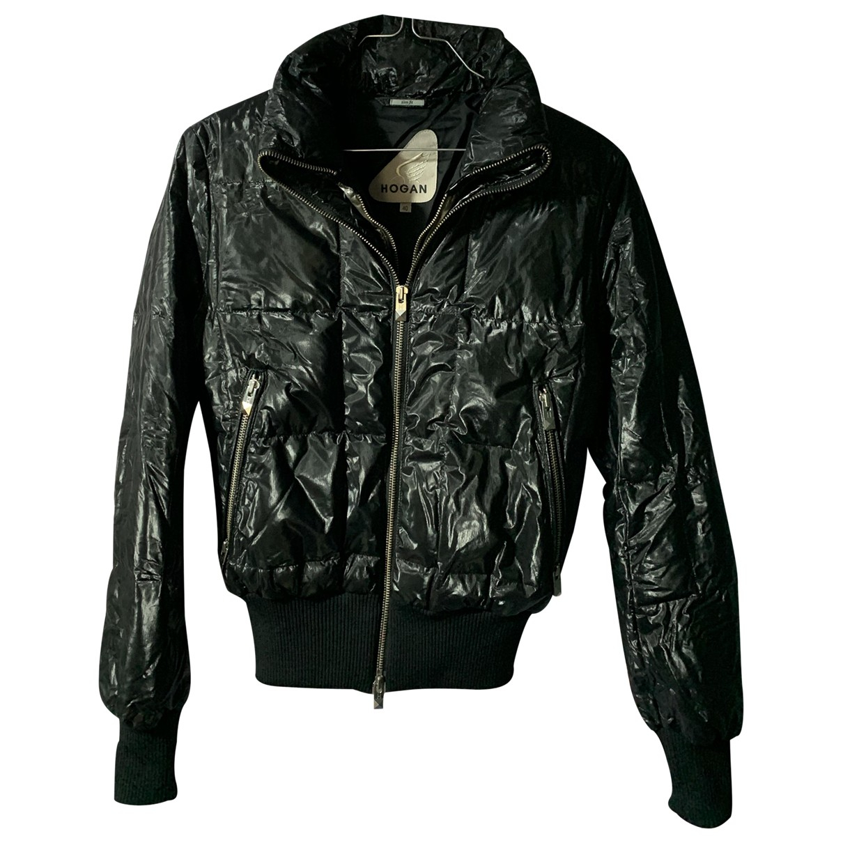Hogan - Manteau   pour femme - noir