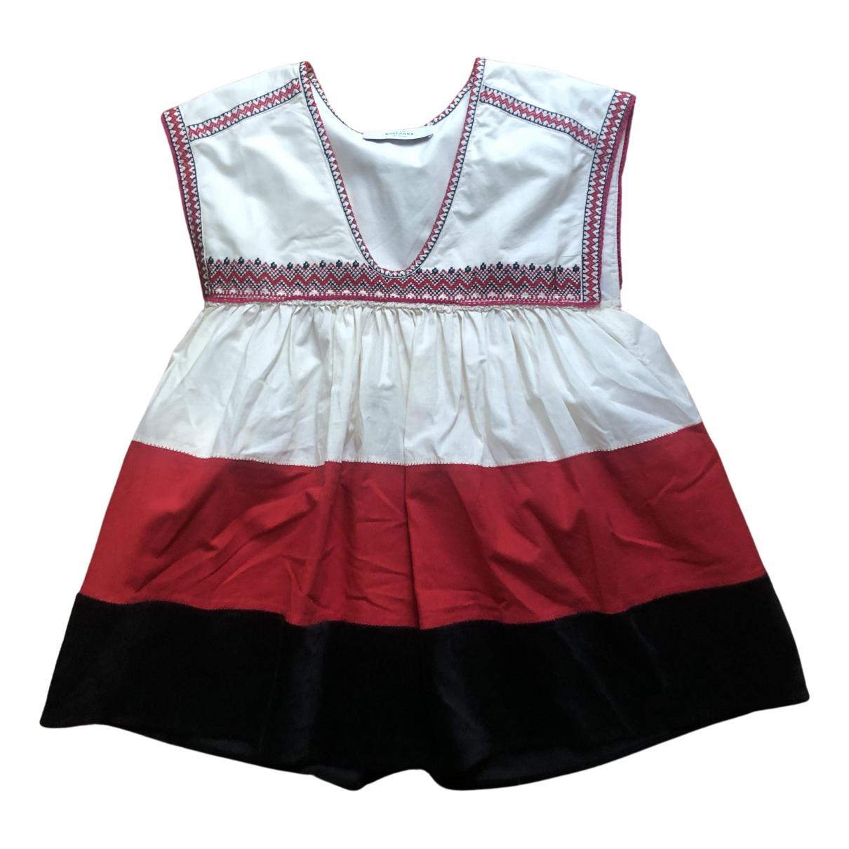 Roseanna - Top   pour femme en coton - ecru
