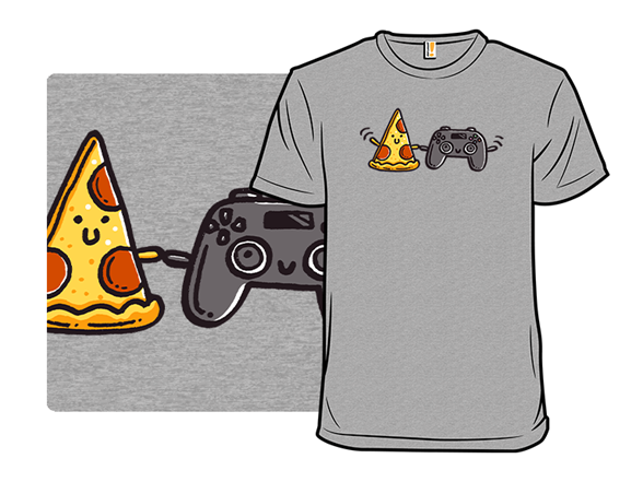 Pizza And Video Games T Shirt