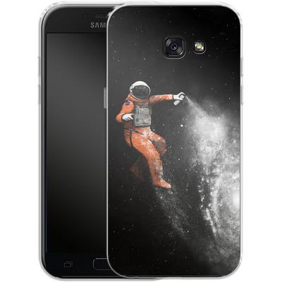 Samsung Galaxy A5 (2017) Silikon Handyhuelle - Space Astronaut von Florent Bodart