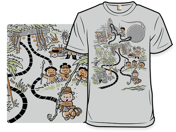 Henry's Jungle Adventure T Shirt