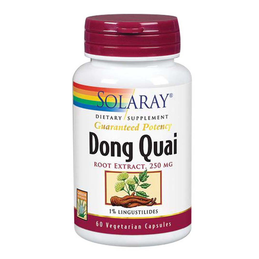 Dong Quai Root Extract 60 Caps by Solaray