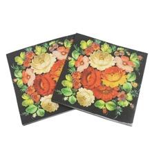 20pcs Flower Print Napkin Paper