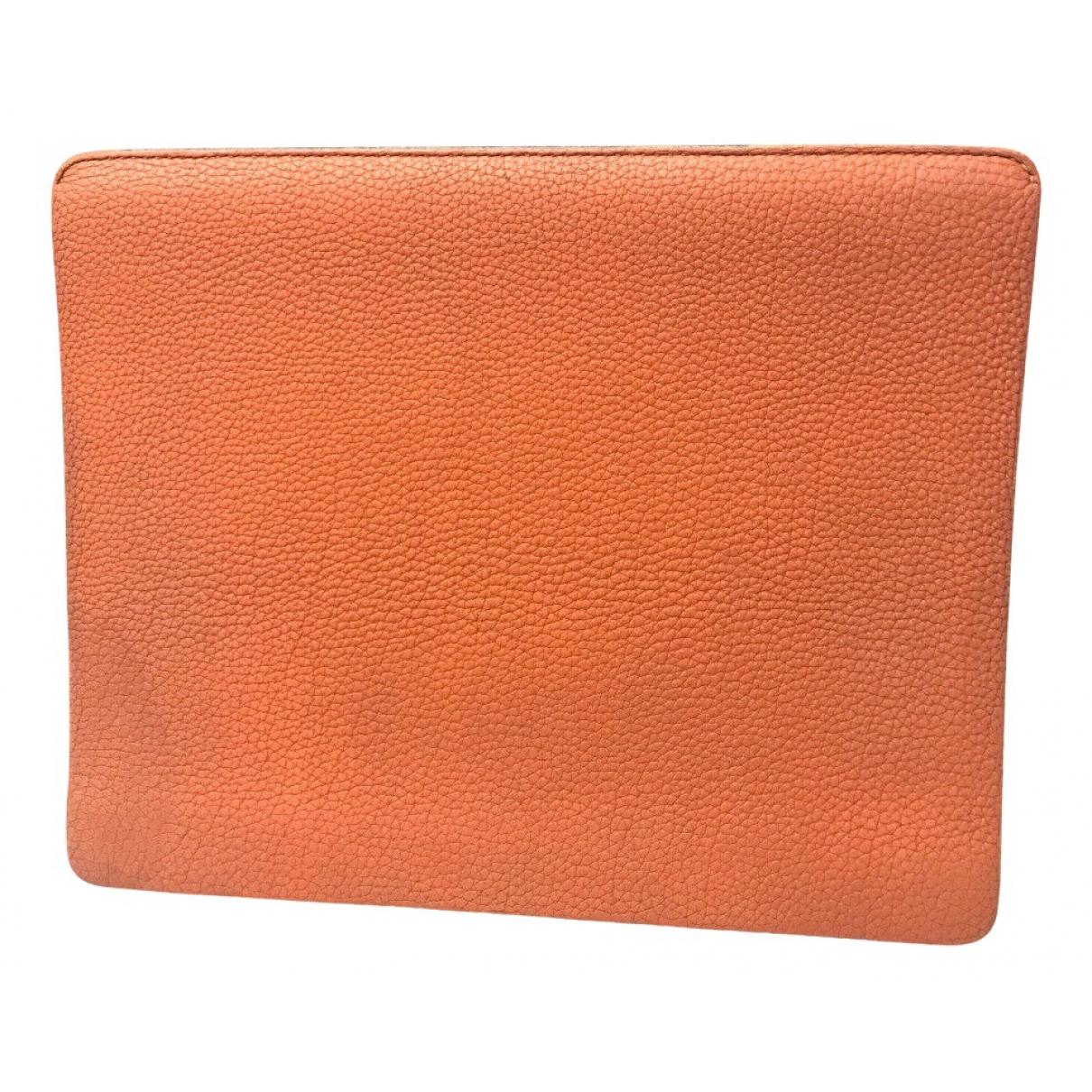 Hermès N Orange Leather Accessories for Life & Living N