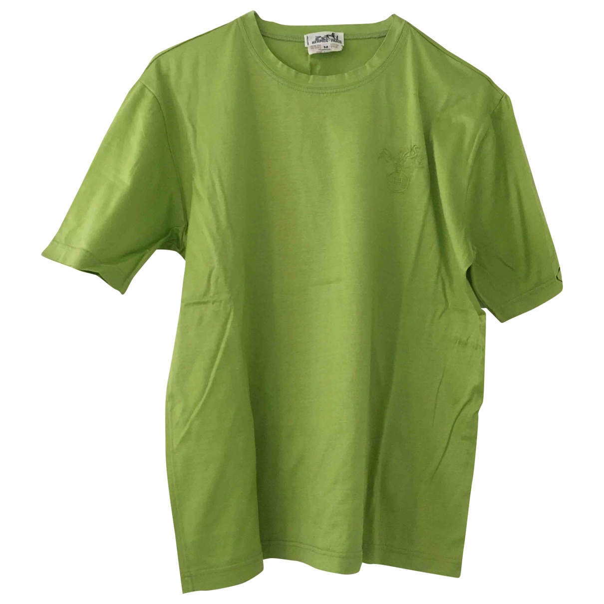 Hermès \N Green Cotton  top for Women M International