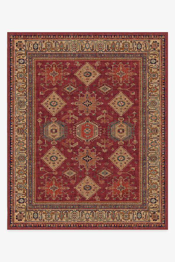 Washable Rug Cover & Pad   Cambria Ruby Rug   Stain-Resistant   Ruggable   8'x10'