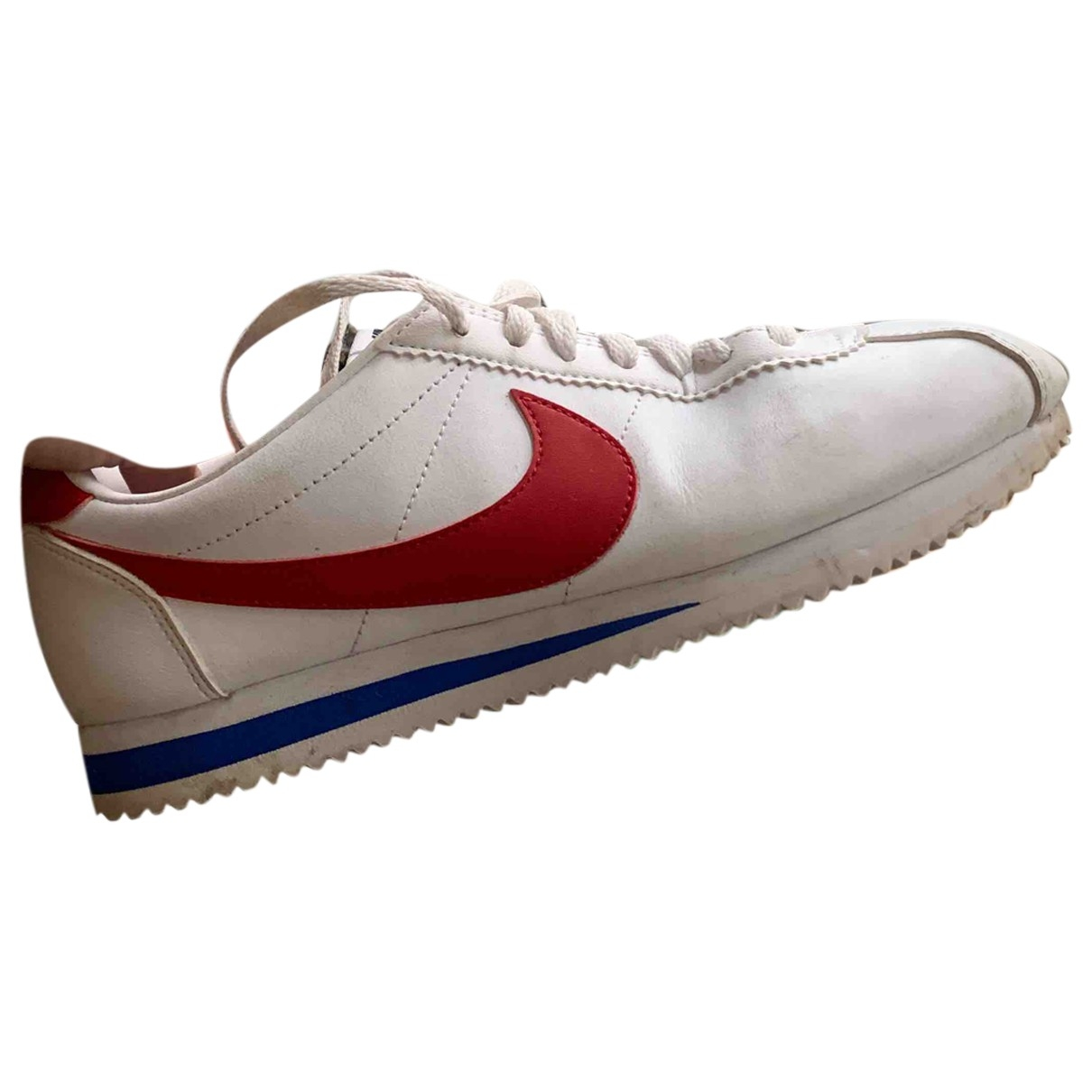 Nike Cortez White Leather Trainers for Women 41 EU