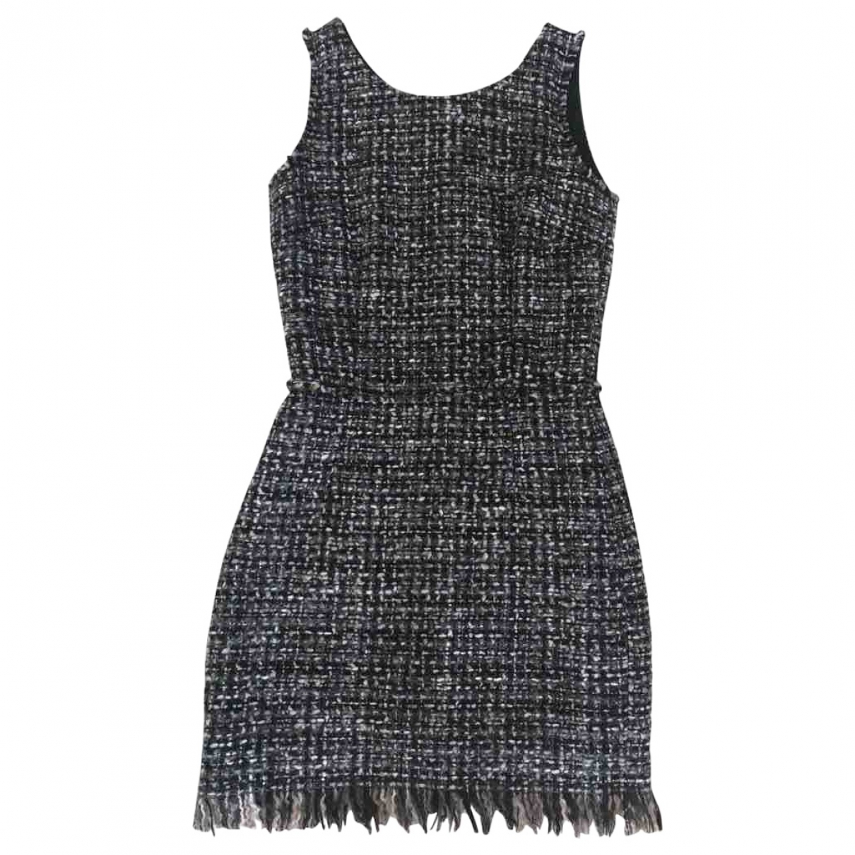 Dolce & Gabbana - Robe   pour femme en tweed - gris