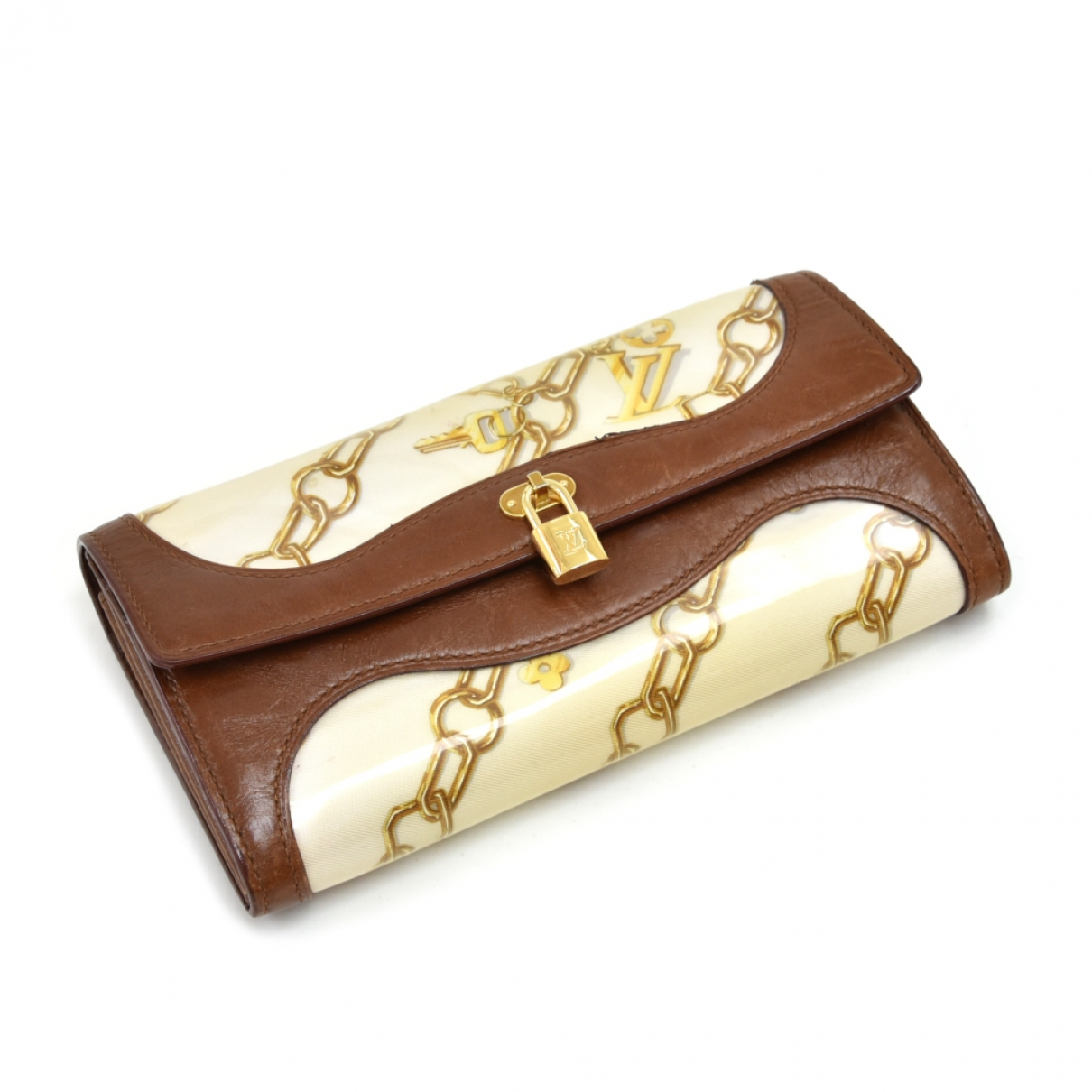 Louis Vuitton \N Gold Leather wallet for Women \N